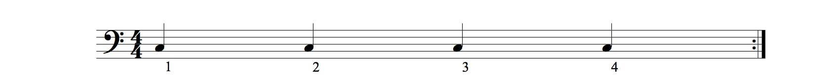 valeurs rythmiques la noire