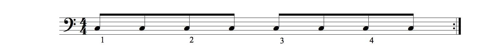 valeurs rythmiques les croches