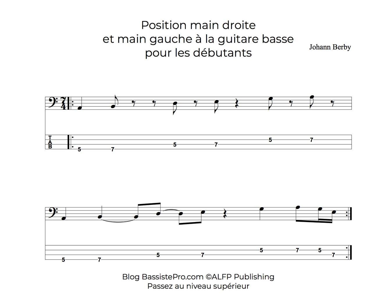 position main droite main gauche bassiste debutant bassistepro2