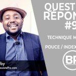 Q+R #9 Technique main droite pouce index ⎥ Débutants