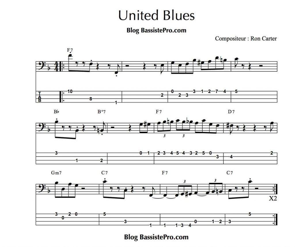 united blues de ron carter