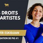 Jennifer Eskidjian - Les Droits des Artistes