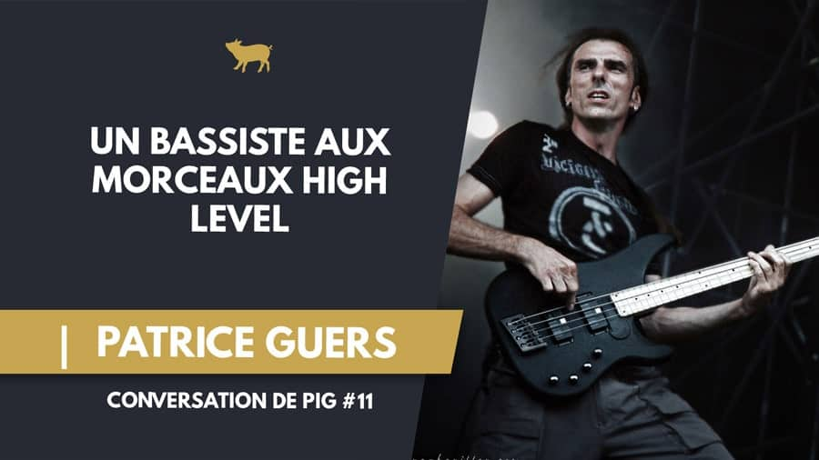 Patrice Guers Bassiste
