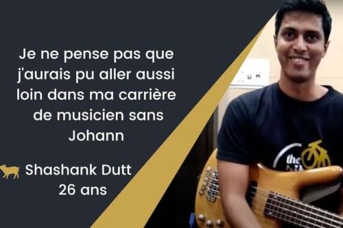 temoignages avis johann berby universite groovelikeapig bassistepro.com tuto Shashank Dutt3